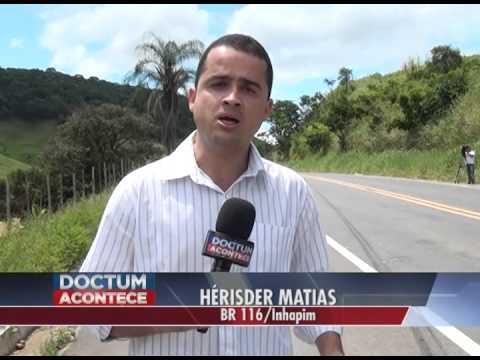 Mulher morre atropelada na BR-116