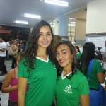 Carla e Samira - Alunas 8º período de Serviço Social