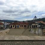 Praça do Centro Histórico de Mariana