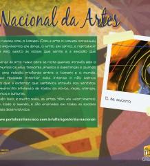 Dia Nacional das Artes - 12 de agosto