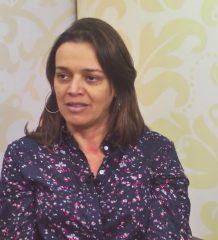 """Marinalva Soares entrevista a Dra. Maria José no programa, """" Saúde pra você"""". O bate papo é sobre doenças respiratórias."""