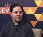 Waneska Lisboa conversa com Padre Agrimaldo