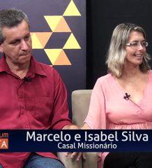 O casal missionário Marcelo e Isabel silva. Método natural de contracepção