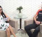 Marinalva Soares conversa com Fúlvio Pires sobre corrida