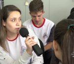 Thiago Prudêncio bate um papo com alunos do Engenheiro Caldas sobre acidentes de trânsito