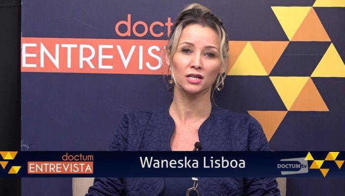 waneska Lisboa entrevista o caminhoneiro Fabrício Marcos Soares