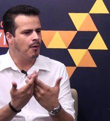 Jacson Tyola bate um papo com Waneska Lisboa no Doctum Entrevista