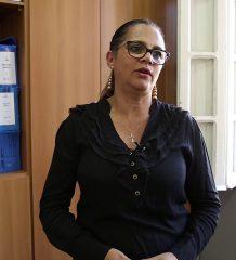 A professora Beatriz Gomes, conta um pouco da história da Escola Estadual Princesa Isabel