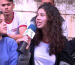 """Thiago Prudêncio bate um papo sobre assédio com alunos do """"Colégio Estadual""""."""